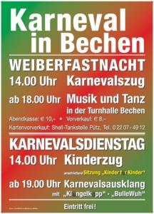 Karnevalsausklang @ Sporthalle Bechen   Kürten   Nordrhein-Westfalen   Deutschland