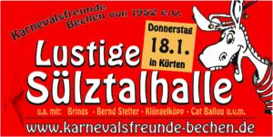 62. Lustige Sülztalhalle @ Sülztalhalle Kürten | Kürten | Nordrhein-Westfalen | Deutschland