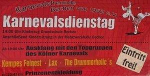 Karnevalsausklang @ Sporthalle Bechen | Kürten | Nordrhein-Westfalen | Deutschland